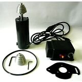 1/2 HP Variable Speed DC Drive Kit: Motor Control Pulleys Belt 395-10260 RPM New