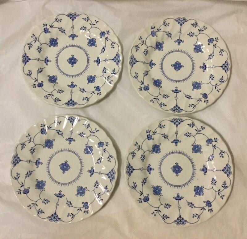 "Myott Finlandia Four 6 3/4"" Plates Staffordshire England 1982"