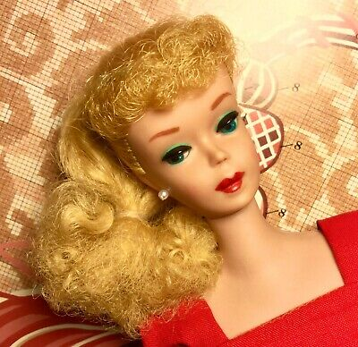 Vintage Barbie #5 5 Ponytail Blonde SWEETLY EXOTIC AND COLORFUL!