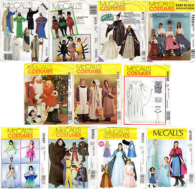 Christmas Story Costumes Halloween (CHOICE: McCall's COSTUME Sewing Patterns Halloween Renaissance Christmas)