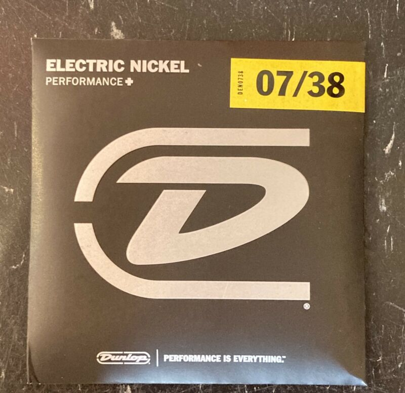 FRESH: Dunlop Icon Signature Billy Gibbons Nickel Wound Guitar Strings (7-38)