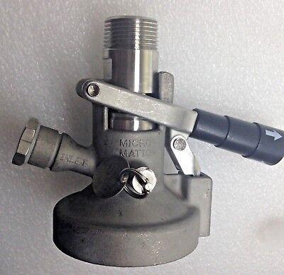 Micromatic Micro Matic Mav Dispense Coupler 30 Psi Max Viton Seals 724-065