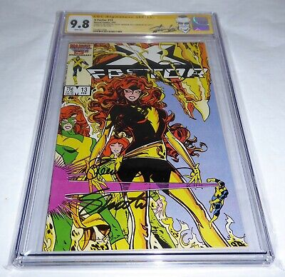 "X-Factor #13 CGC SS 9.8 4x Signature Autograph STAN LEE 1st Mention of ""The 12"""