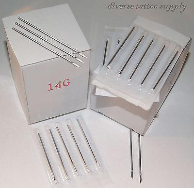 100 Body Piercing Gauge Pierce Tri Bevel Pierce (Body Piercing Needles)