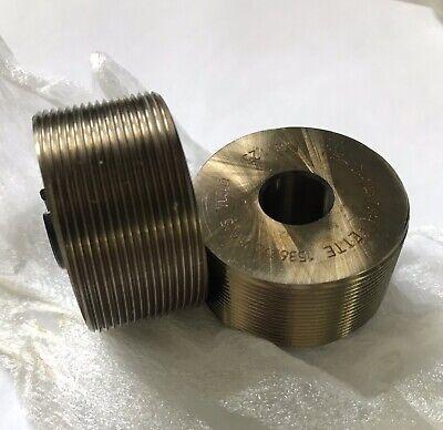 Lmt Fette M8 X 1.25 Thread Rolling Dies T18-03-21.5
