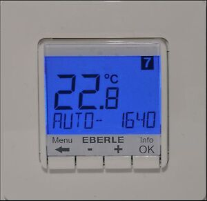 eberle thermostat ebay. Black Bedroom Furniture Sets. Home Design Ideas