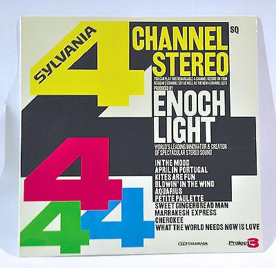 Enoch Light & Project 3 - LP Album Quadraphonic GTE Sylvania Promo New In Box!! Enoch Light