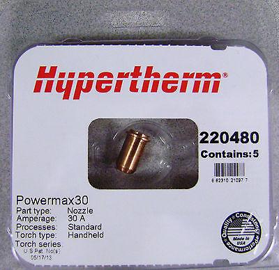 Hypertherm Genuine Powermax 30 Nozzles 220480