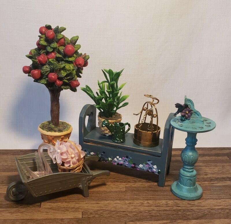 Dollhouse Miniature 1:12 Garden/Patio Lot