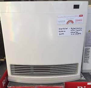 2 x Shop Soiled Rinnai Dynamo 15 Gas Heater - White - Natural Gas Caringbah Sutherland Area Preview