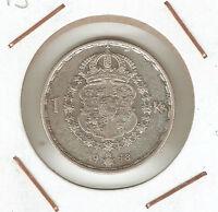 Sweden: 1 Krona 1948 -  - ebay.es
