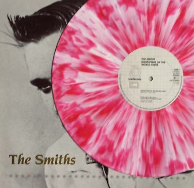 The Smiths  Shoplifters Of The     German Pink Splatter Vinyl 12   Vinyl Record