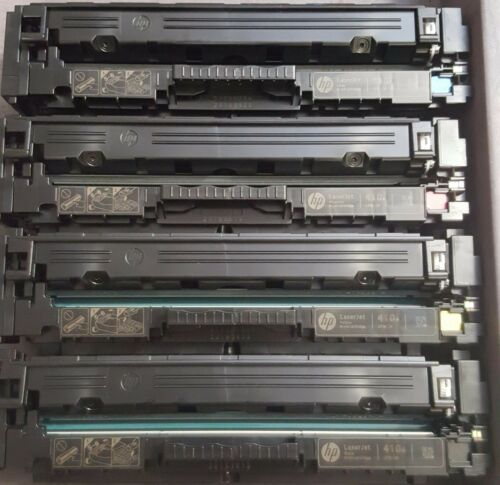 4 sets Virgin Genuine Empty HP CF410A - CF413A Toner Cartridges FREE SHIP 410A