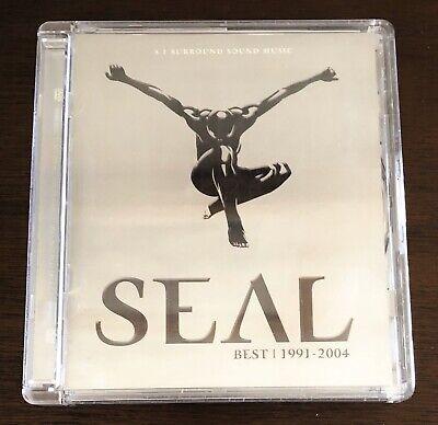 Seal Best 1991-2004 Ultra Rare 5.1 Surround Sound DVD Audio Near Mint