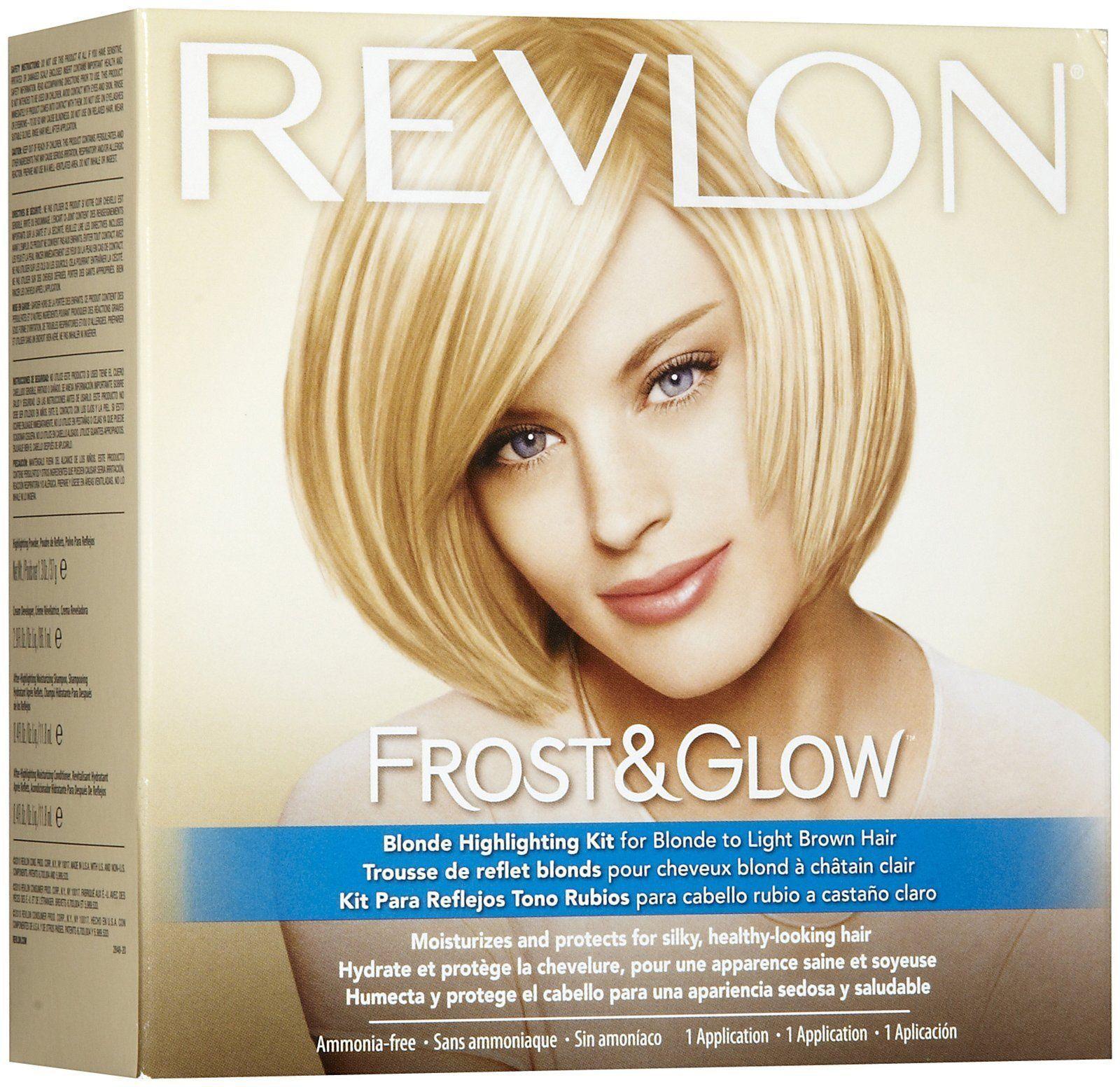 Revlon Frost Amp Glow Honey Highlighting Kit Walmartcom Of