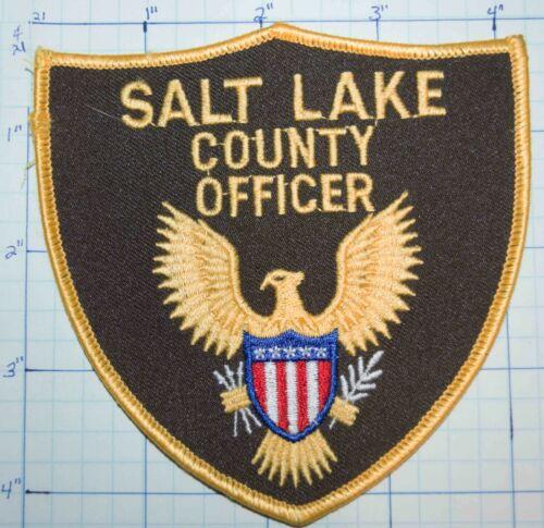 UTAH, SALT LAKE COUNTY OFFICER SHERIFF DEPT PATCH
