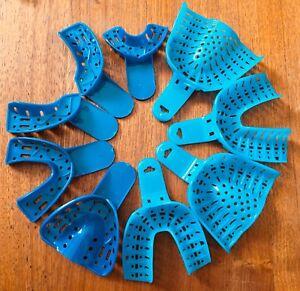 Dental Impression Trays #1 to #9 Set, Large, Medium, Small, 9pcs