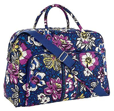 AFRICAN VIOLET Vera Bradley WEEKENDER TRAVEL Carry-on Luggage Overnight Bag NWT
