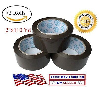 72 Rolls Case Brown Tan Packing Tape 2