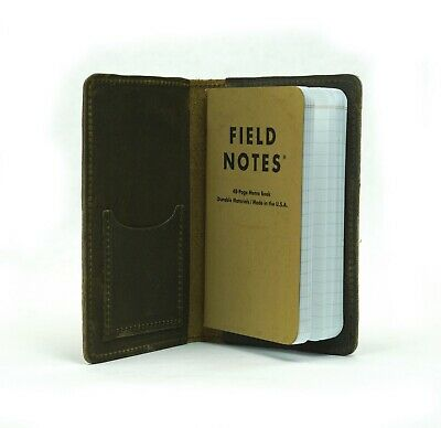 SLC Field Notes Assorted Earth-Tone Oil Tan Leather Journal Cover