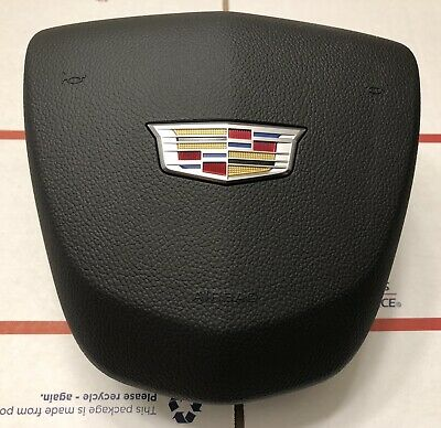 "Cadillac /XTS/SRX/ATS/CTS/ELR Drivers Airbag ""BLACK""  2013 2014 2015 2016 2017"