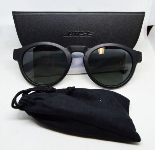 Bose 833417-0100 Frames Rondo Round Bluetooth Audio Sunglasses - Black