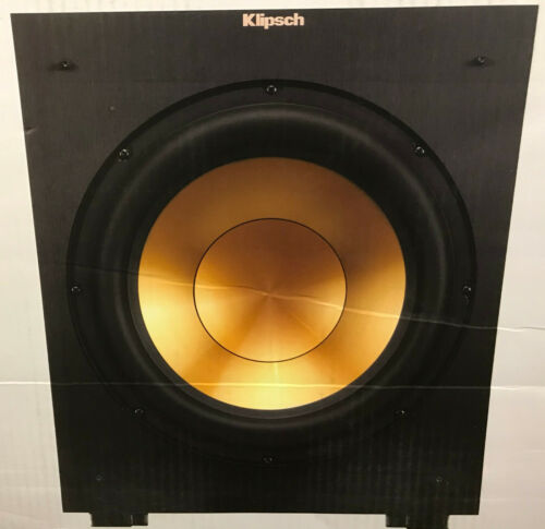 Klipsch R-12SW Reference Powered Subwoofer 400 WATTS NEW Sealed Retail $449