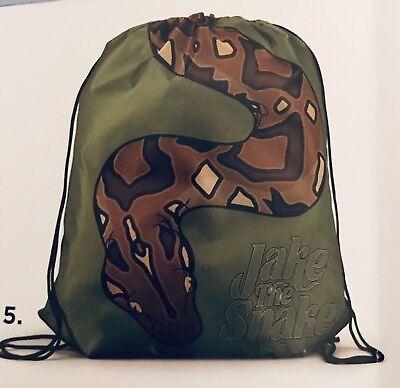 WWE Slam Crate Jake The Snake Roberts Cinch Bag Brand New Unopened