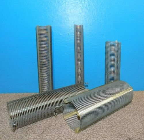 Lot 5 Air Dux Type Coils Large @ 10 inch Free Shipping