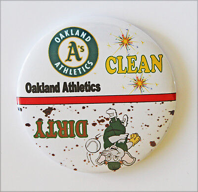 "3""--Oakland A's Baseball-Clean/Dirty Dishwasher Magnet"