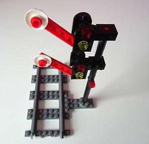 Lego City Eisenbahn Signal Schrankensignal Zugsignal
