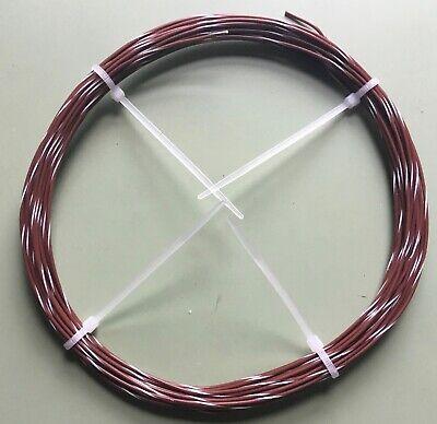 E22 Teflon Wire Brownwhite Awg 22 28 Ft. Length 1934 Stranded Mil168784