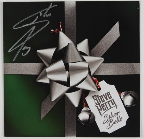 Steve Perry Journey JSA Signed Autograph 45 Record Vinyl Silver Bells