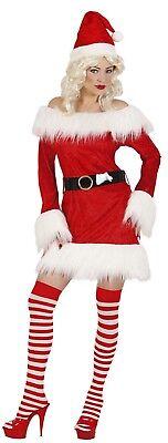 ANT 14931 Nikolas Kostüm Weihnachtsmann Miss Weihnachtsfrau Santa Claus X-Mas