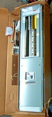 New Eaton 400 Amp Main Breaker Electrical Panel 3 4w 208y120 Vac W Door Box