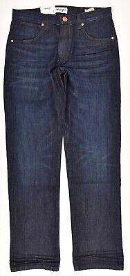 WRANGLER Men's ARIZONA Classic Straight Leg Jeans, Best Blue, size W32