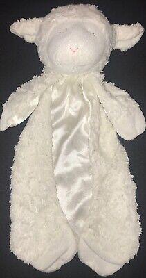 Baby Gund~Security Blanket~Lovey Lovie~Lamb~Sheep~Satin