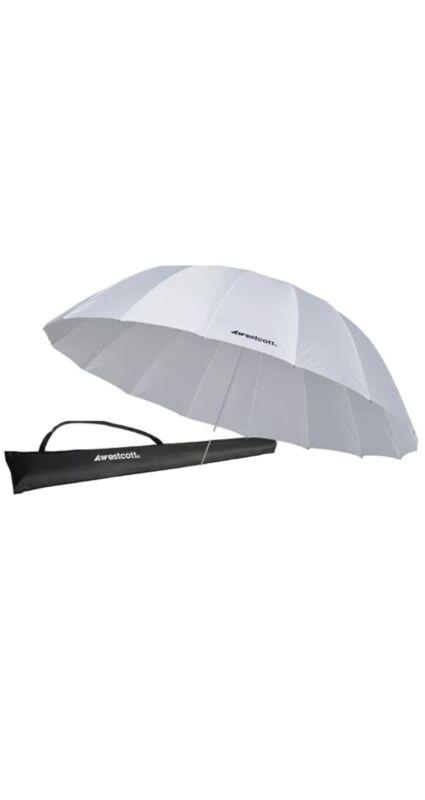 BRAND NEW Westcott 7ft White Diffusion Parabolic Umbrella