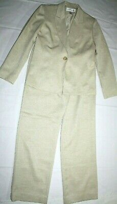 womens Jacket & pant suit JONES NEW YORK size 10 pants & matching jacket