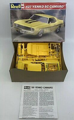 1995 Revell 427 Yenko SC Camaro 1:25 Scale Model Kit 7132 in Open Box