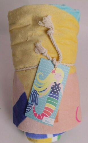 NWT Pottery Barn Kids Beach towel: blond mermaid
