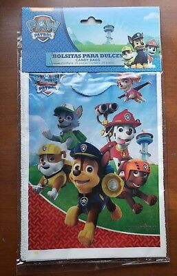 25 Paw Patrol Party Favor Bags Treat Loot Goody Candy Bags Party Supplies](Patrol Party)