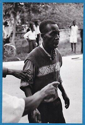 original Magnum Ian Berry large vintage photo Independance riots Congo 1960