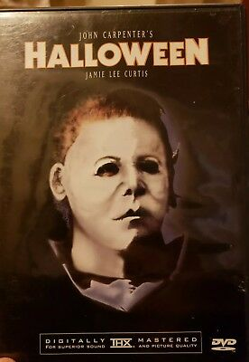 Halloween DVD *HORROR *HALLOWEEN Michael Myers RARE art cover](Halloween Dvd Cover)