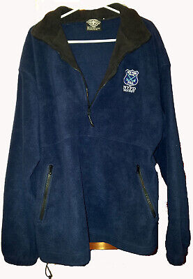 NYPD HOCKEY FLEECE PULLOVER XL NEW YORK POLICE PBA team Charles River - Charles River Apparel Fleece Pullover