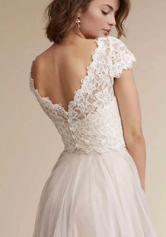 NEW Tadashi Shoji Sydney Topper Size Small Wedding Dress Top