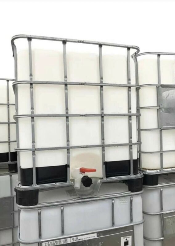 IBC Tote Liquid Storage Container 275 Gallon Local Pickup Only - We Do NOT Ship