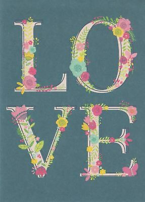 Love Note Card Greeting Card White Envelope