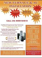 Sale Price Air Conditioner & Furnace Two Stage