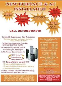 Gas Line /BBQ Heating & Cooling , Water Heater